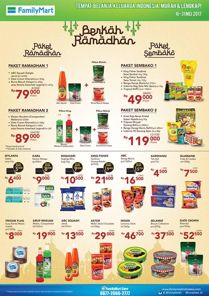 Promo Katalog FAMILYMART Terbaru Periode 16 - 31 Mei 2017 - otorel