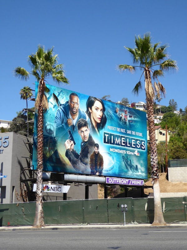 Timeless series launch billboard