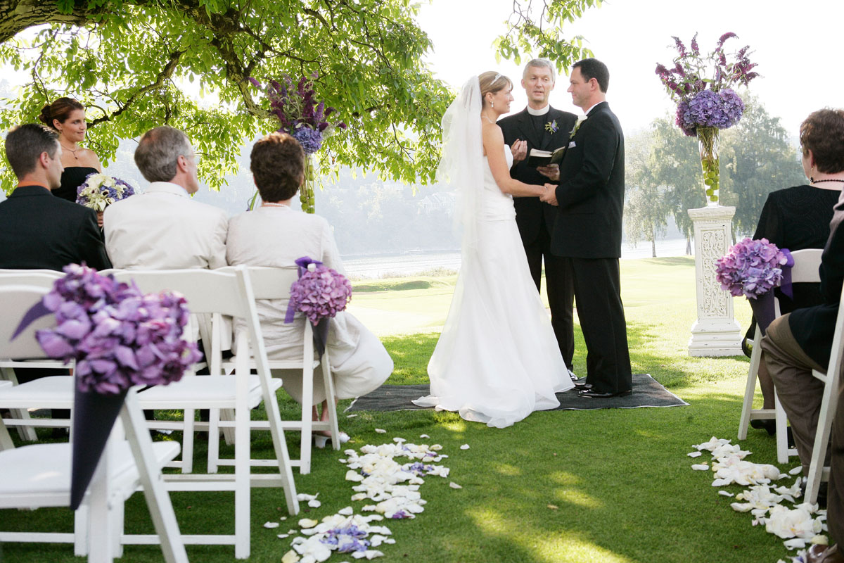 My Sweet June: Perfect Purple Wedding