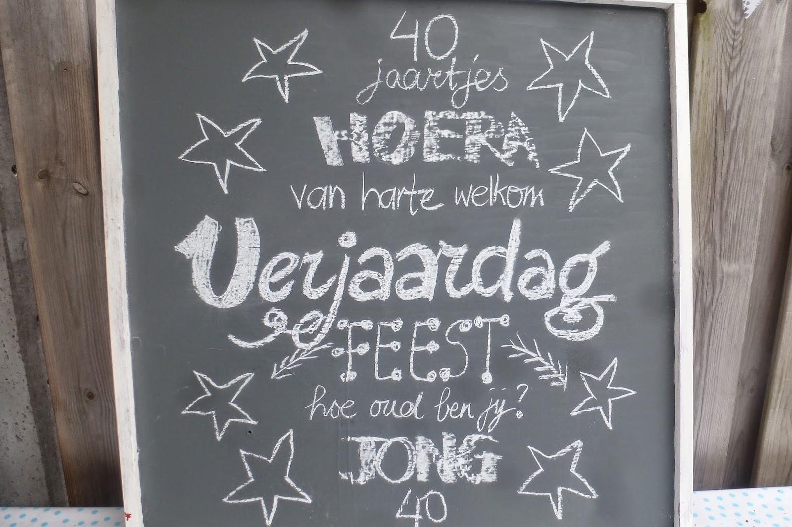 feestje 40 jaar 40 Jaar Verjaardag Feest Ideeen   ARCHIDEV feestje 40 jaar