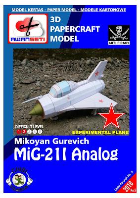 Image of Chibi MiG-21I Analog (USSR)