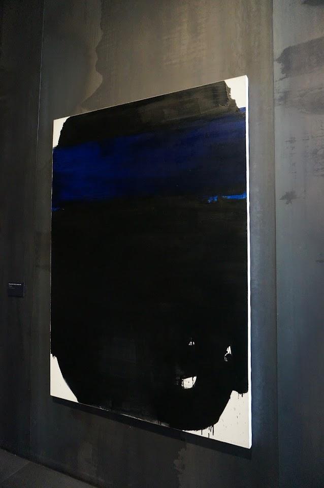 peinture Pierre Soulages 1967