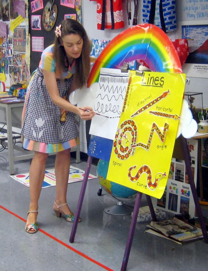 Line Art Lesson For Kindergarten : Cassie stephens in the art room a unit on line for