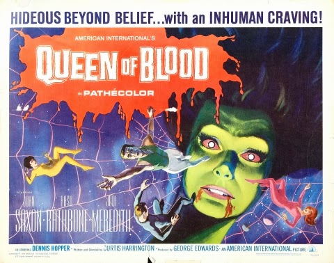 Poster - Queen of Blood (1966)