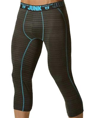 Junk Balance Street Runner Shin Length Underwear Aqua Blue Gayrado Online Shop