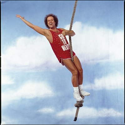 HK AND CULT FILM NEWS RICHARD SIMMONS SWEATIN TO THE