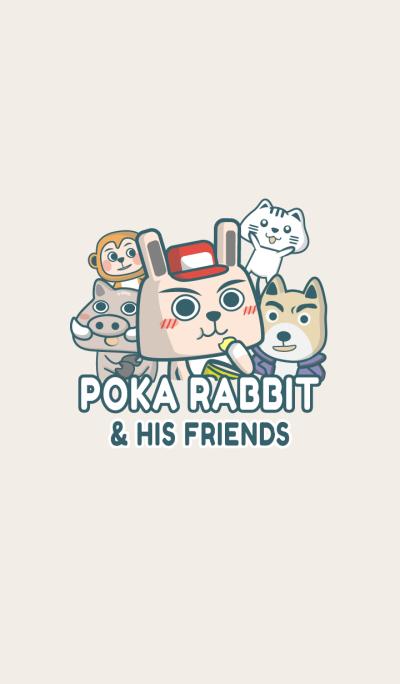 Poka Rabbit and His Friends