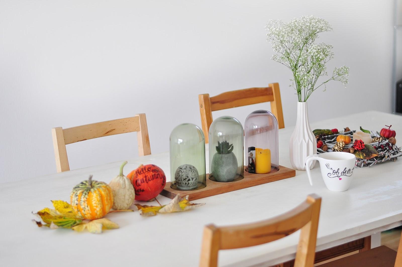 dom, wnętrza, styl skandynawski, biały stół, DIY, zrób to sam