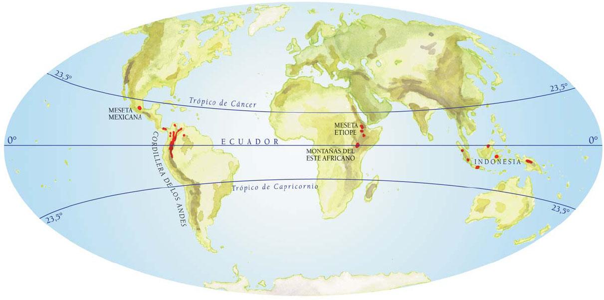 Trópico de Câncer ou Zona Tropical Norte