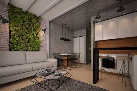 Decorating A Small Apartment - Decorating a Small 48 square meters Apartment's Interior