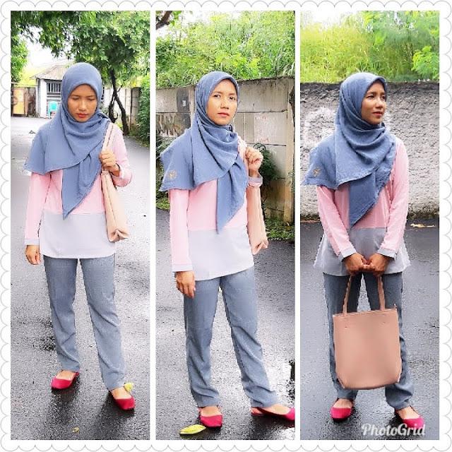 Tips menyiasati bau hijab tak sedap