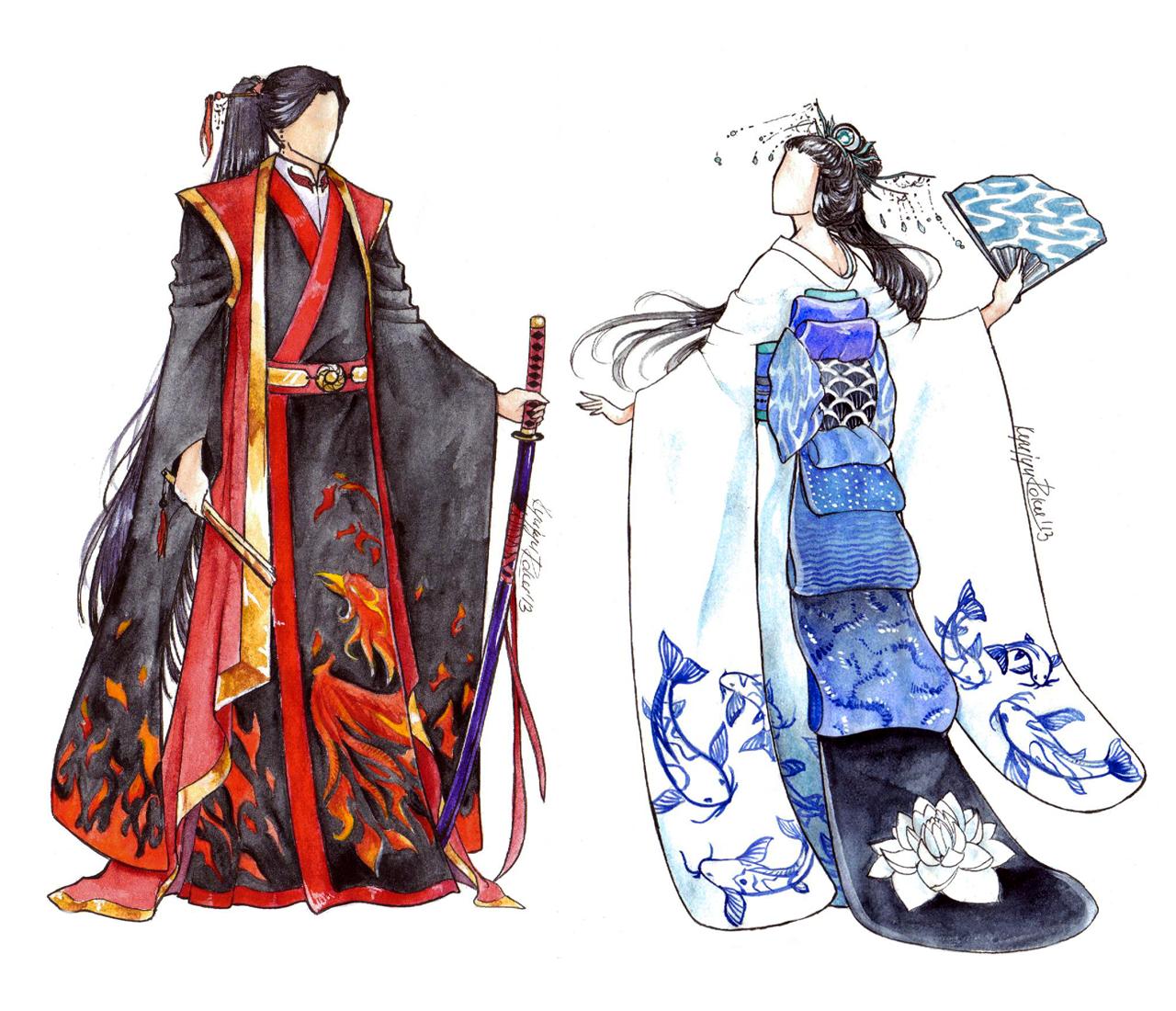 Kimono by Princess--Ailish on DeviantArt |Traditional Kimono Anime