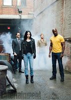 The Defenders Series Krysten Ritter, Finn Jones, Charlie Cox and Mike Colter Image 2 (10)
