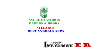 ssc jen exam 2016 syllabus papers books android apps