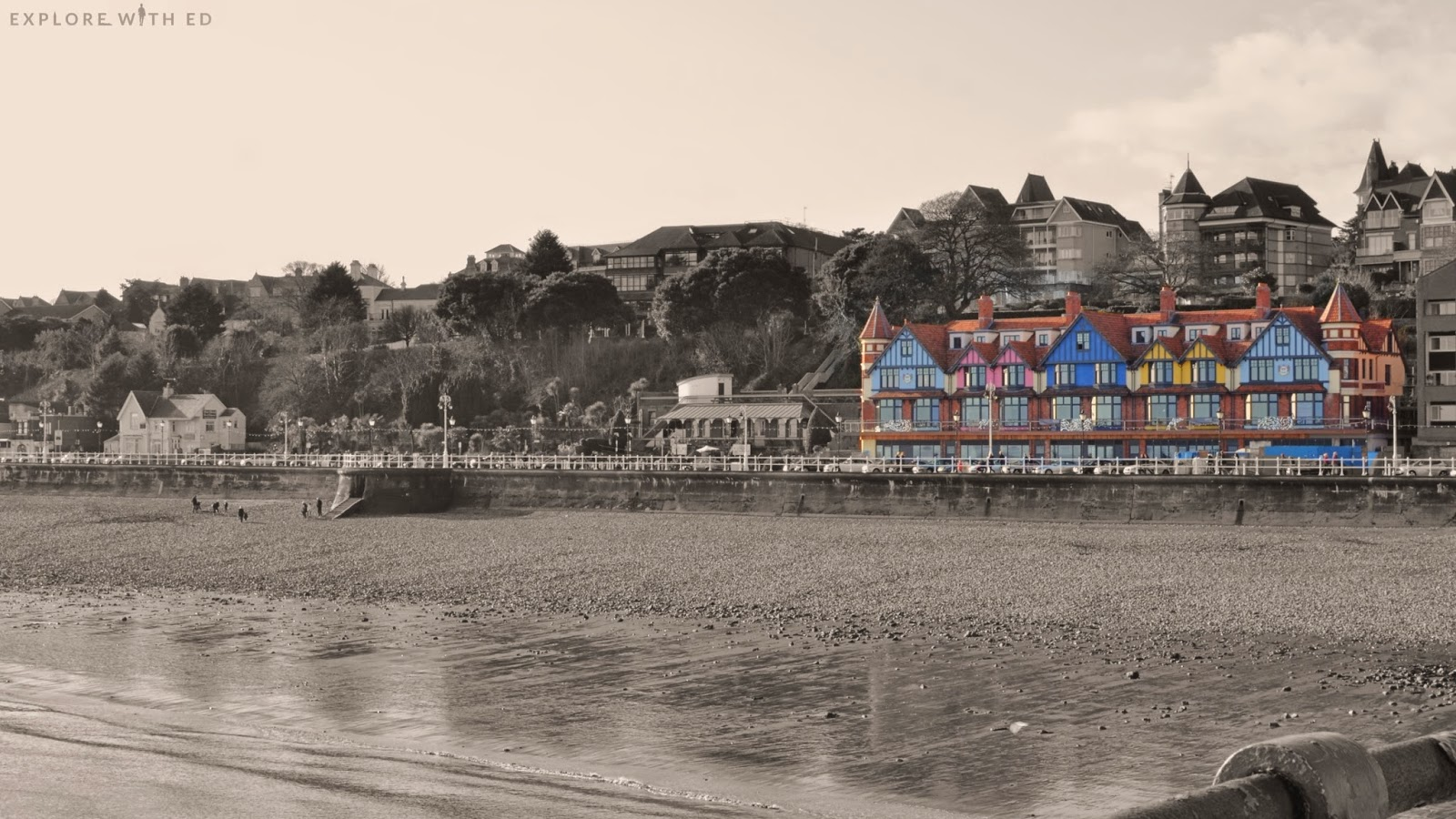 View from Penarth Pier