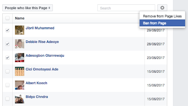 Steps On How to ban someone on your Facebook page Fast