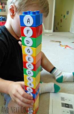 Building a chord tower from And Next Comes L