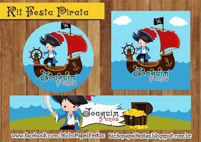 Kit Festa Pirata Menino