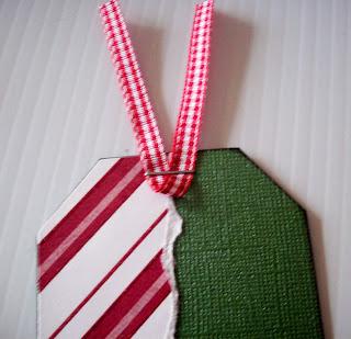 ribbon+on+tag DIY Christmas Gift Tags Tutorial