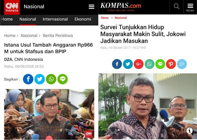 Istana Ajukan Tambah Anggaran Hampir 1 Triliun untuk Stafsus dan BPIP, Warganet Meradang