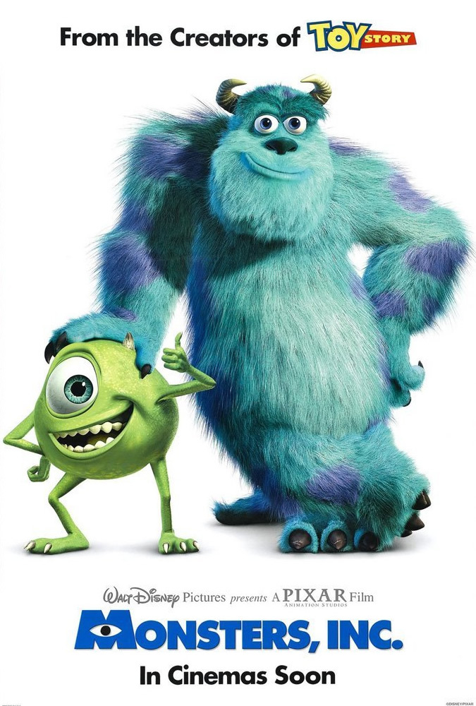 Monsters, Inc. 2001 English Movie Bluray 720p
