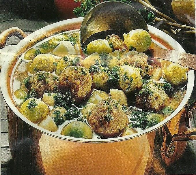 Рецепт приготовления супа из брюссельской капусты