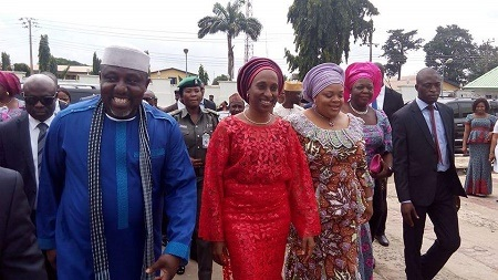 Wow! See How Dolapo Osinbajo Was Welcomed Like a Queen in Imo State (Photos)