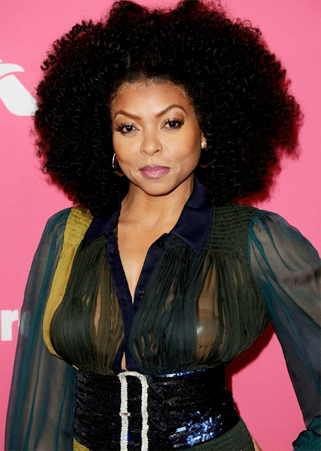 Taraji P. Henson shows up on the red carpet topless (photos)