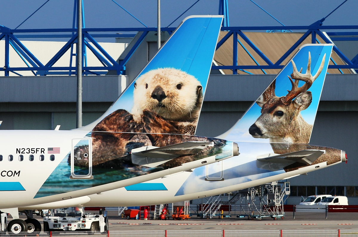 Livery of the week: Frontier Airlines