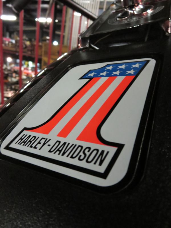 Harley Davidson No. 1 Logo