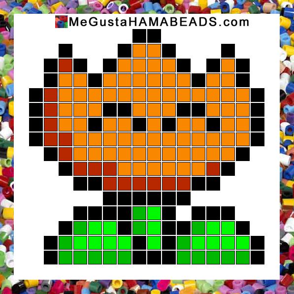 megustahamabeads com  patrones hama beads super mario