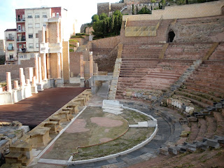 Teatro romano. Cartagena. Carthago Nova. Murcia