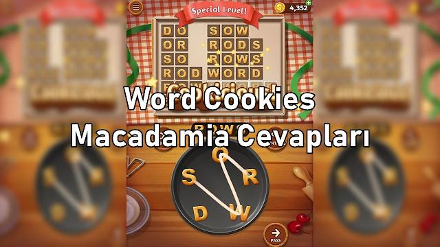 Word Cookies Macadamia Cevaplari