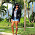THE LOOK OF WINTER IN TURKS: BLAZER + DENIM SHORTS