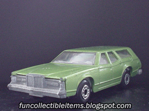 Green Cougar Matchbox Car