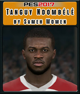 PES 2017 Faces Tanguy Ndombele by Sameh Momen