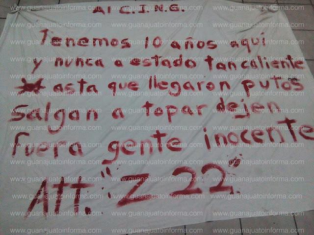 """""""Tenemos 10 años aquí y nunca a estado tan caliente, hasta que llegaron put..os salgan a topar Los Zetas amenazan a EL CJNG"""""""