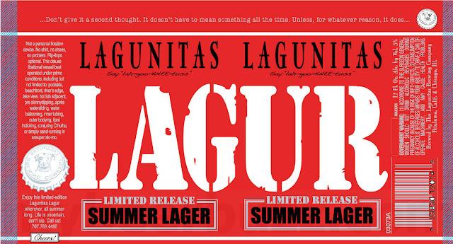 Lagunitas Adding New Lagur Summer Lager Cans