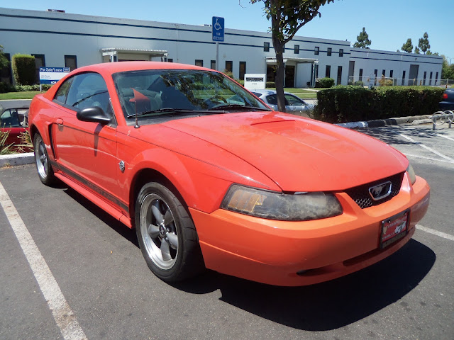 Ford Mustang repainted by Almost Everything
