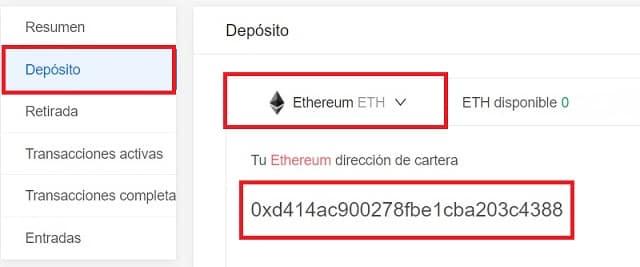 depósito ethereum en kucoin desde coinbase para comprar snovio
