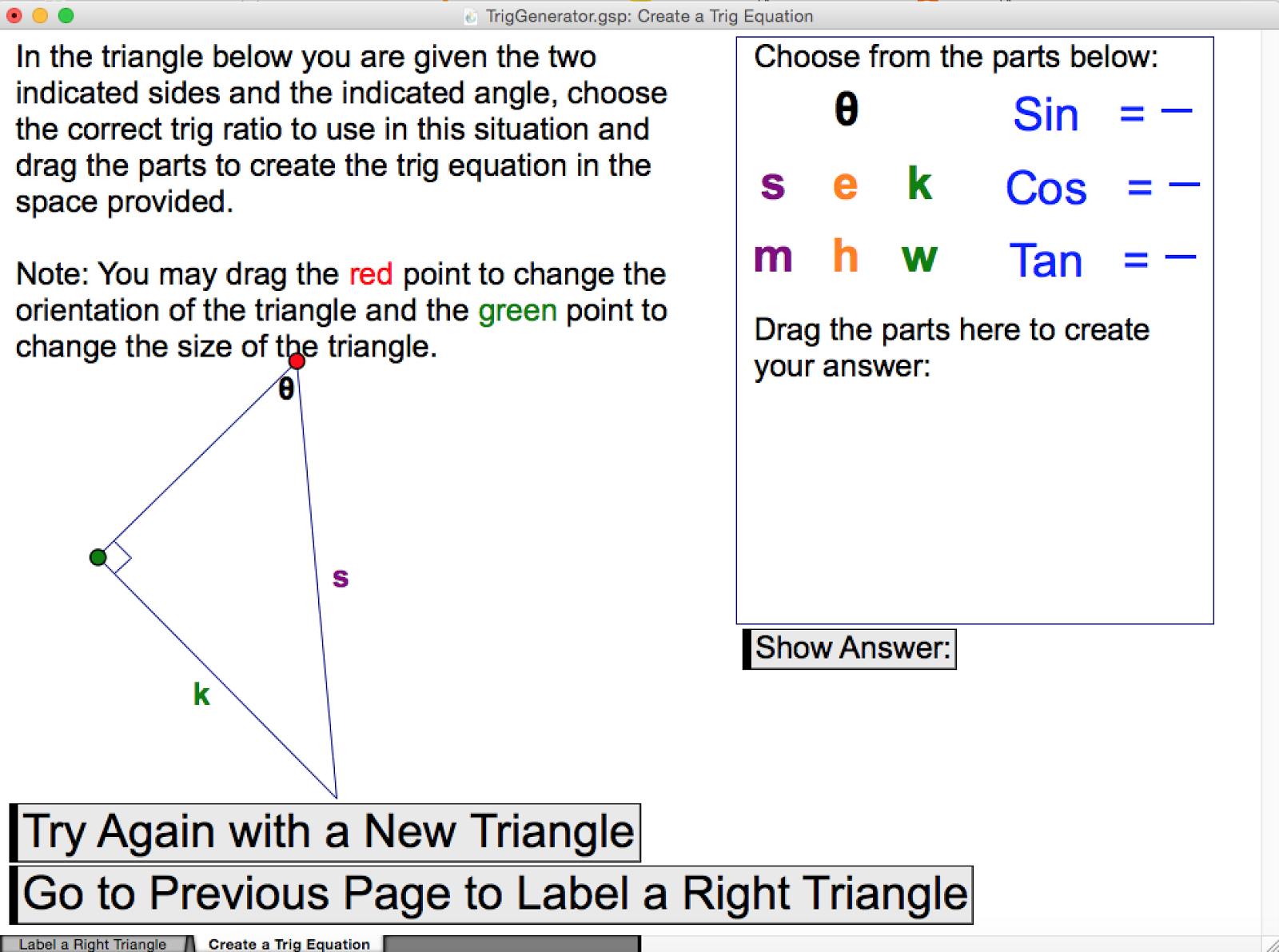 Engaging Math Geometer S Sketchpad