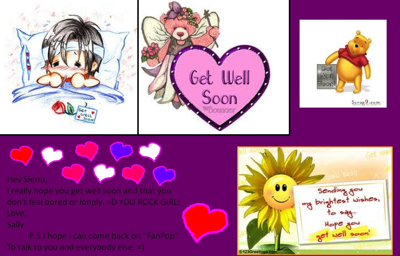 Free Get Well Soon Cards Wallpapers Images For Mobile And Destop