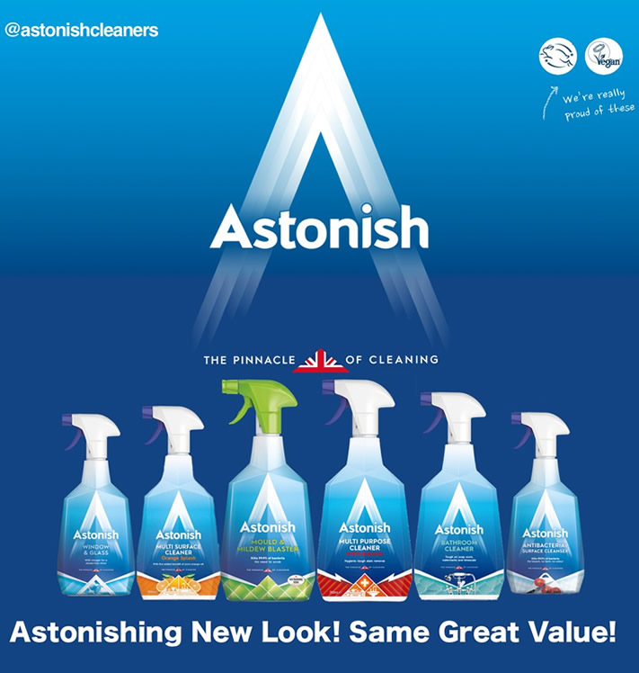 Win the New Look Astonish Range