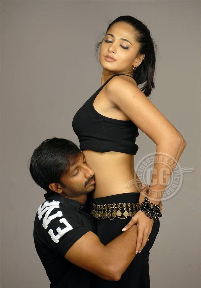 Anushka Navel Kiss 20