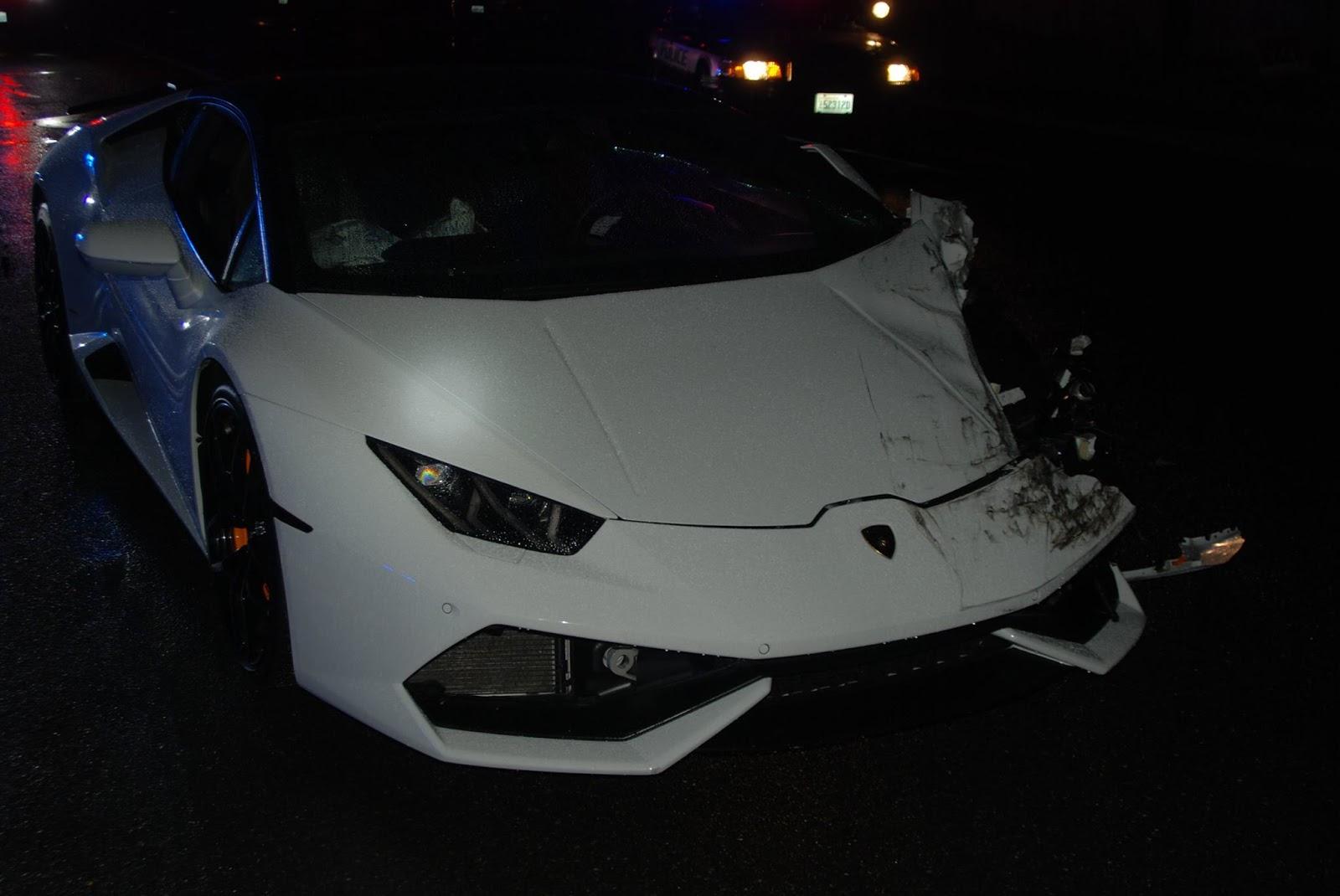 23 Year Old Crashes Rented Lamborghini Huracan In
