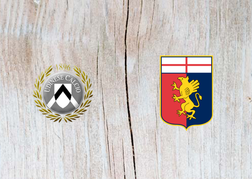 Udinese vs Genoa - Highlights 30 March 2019