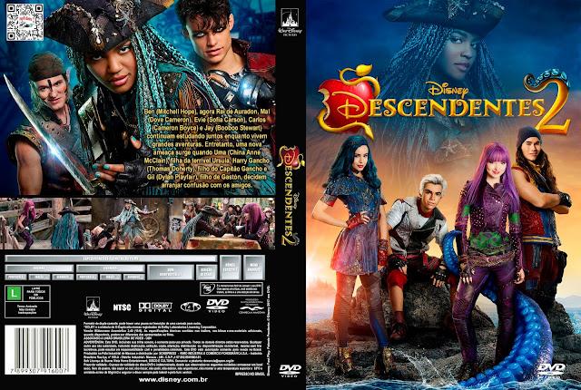 Capa DVD Descendentes 2 [Exclusiva]