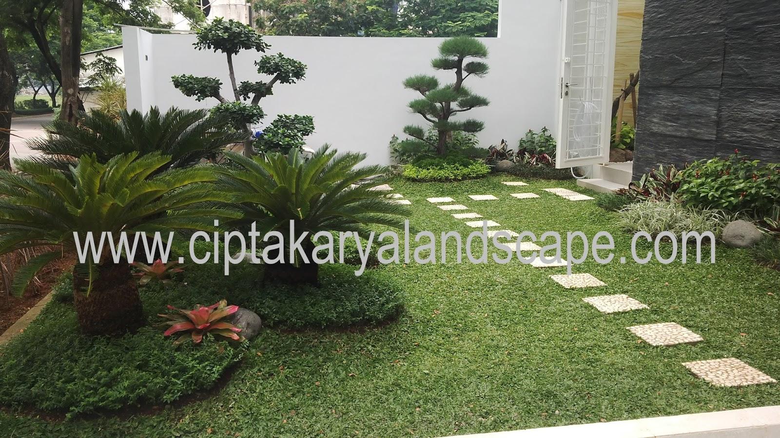 Jasa Pembuatan Taman Di Jakarta CIPTA KARYA LANDSCAPE Tukang
