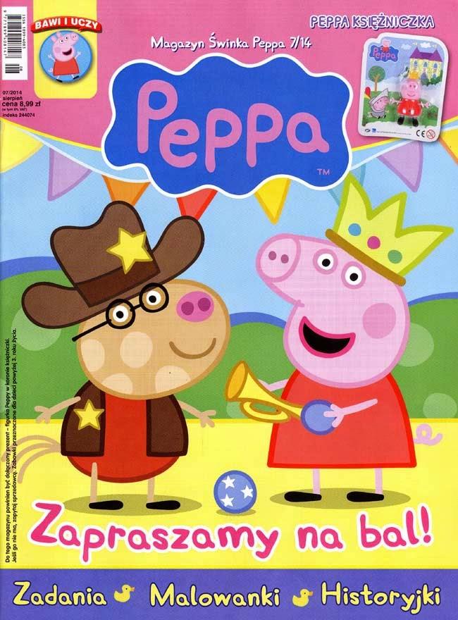 świnka peppa kolorowanka online