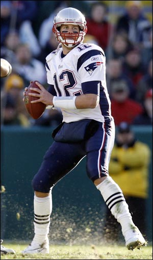 Today In Pro Football History Mvp Profile Tom Brady 2007